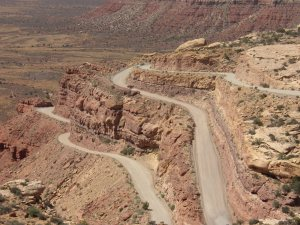 Moki Dugway - check out the switchbacks!