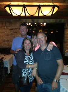 Matt, Nicole, Mike & Traci -- so happy in Reno!