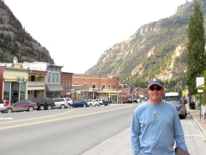 The quaint town of Ouray