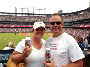 Rockies game at Coors Field