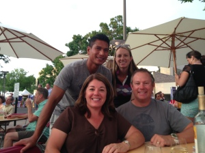 Cherry Creek Art Festival with Rod & Jen