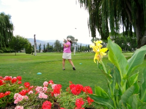 Golfing in Penticton