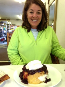 Marionberry French Toast!