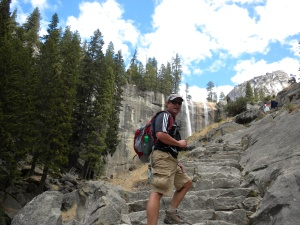 Hike up 600 granite steps!
