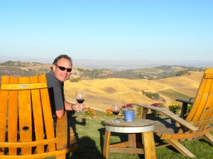 DAOU Winery - beautiful view!