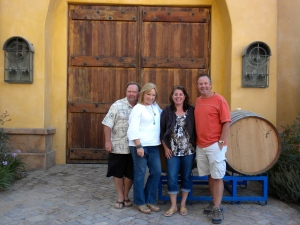 Demetria Winery with Dana & Sharon