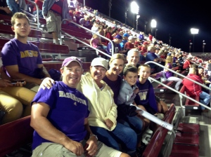 Miller's and Kaplan's at the UW/Stanford game