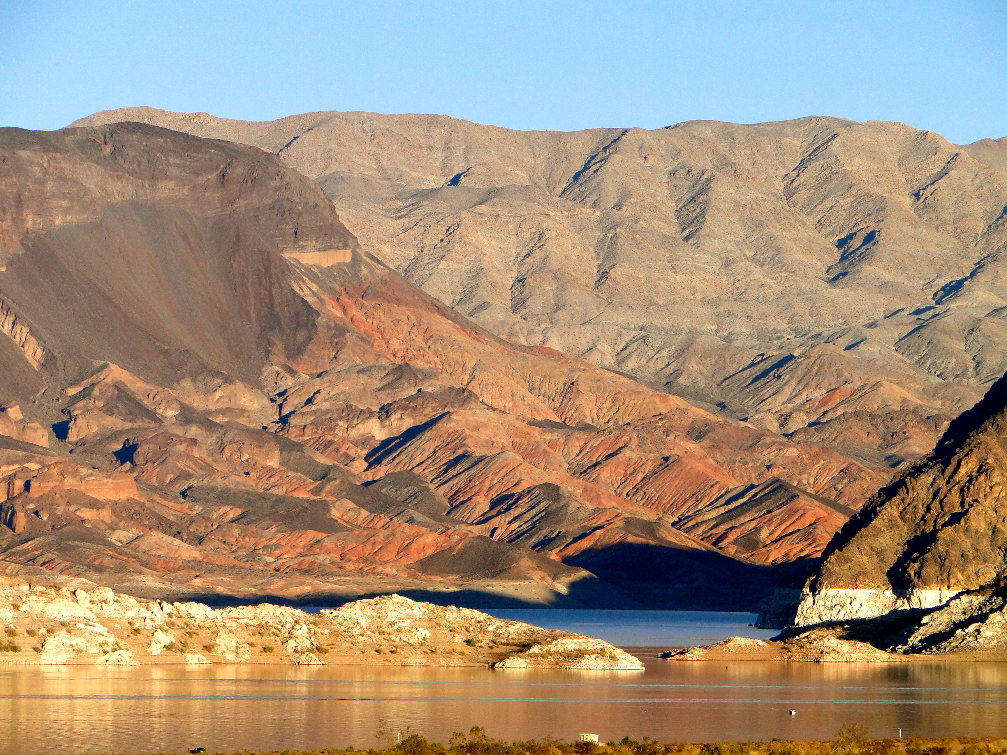 November 2013 today is our someday for Fishing lake mead from shore