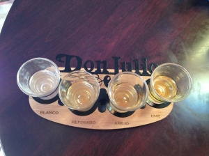 Don Julio Tequila Tasting