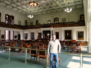 Inside the Senate chambers, Austin