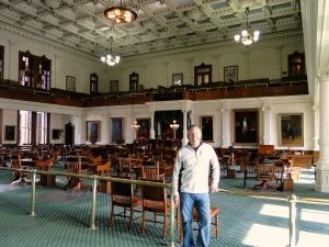 Inside the Senate chambers, Austin
