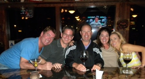 Jeff, Brent, Mike, Me & Ashlie