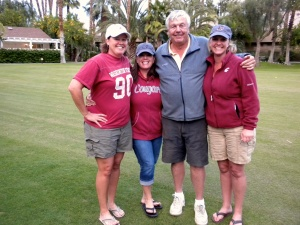 Shelly, Me, Jerry & Sunny - Go Cougs!