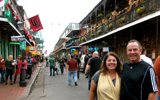 Bourbon Street, French Quarter