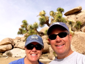 Mike & I at Joshua Tree NP