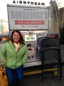 Gourdoughs Donuts food truck.  Notice the tagline - Big. Fat. Donuts.  They are meals!