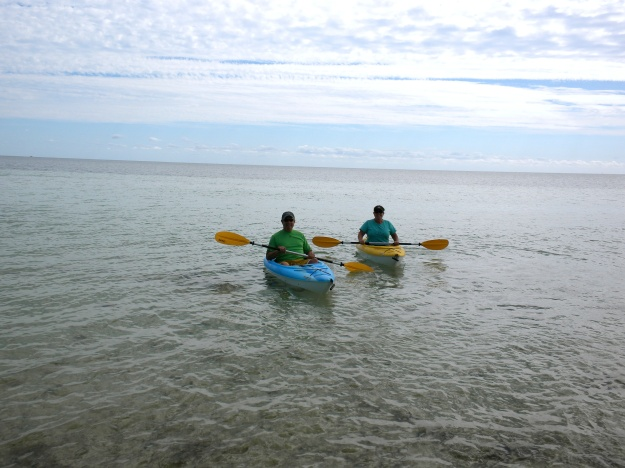 Kayaking at Bahia Honda State Park