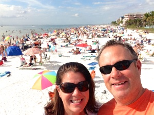 Ft. Myers Beach - New Year's Day