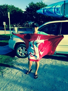 My new Coug flag!