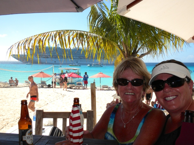 At Jack's Shack in Grand Turk
