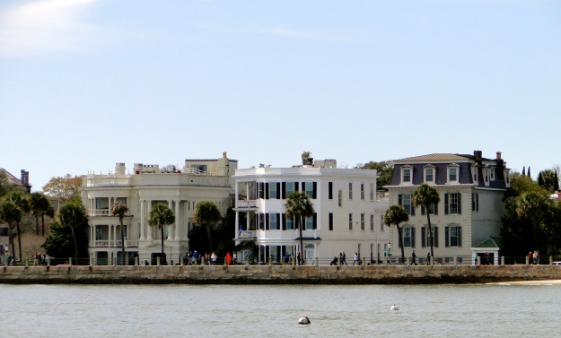 Battery Street in downtown Charleston, a promenade of mansions
