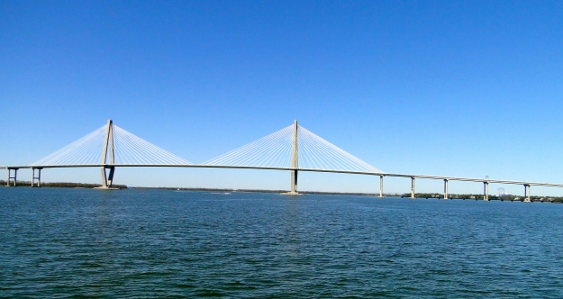 Arthur Ravenel bridge, largest cable-stay bridge in the country