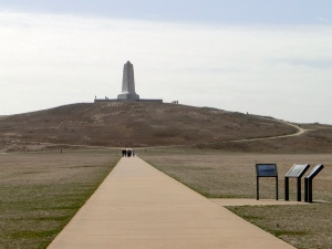 The Monument from afar