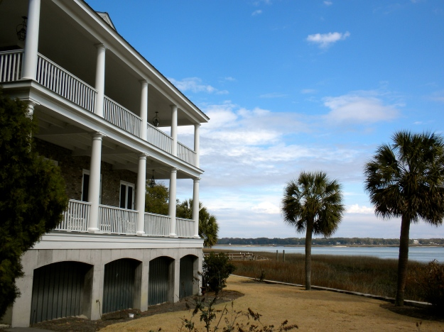 Antebellum home in Beaufort, SC