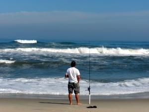 Ocean fishing!