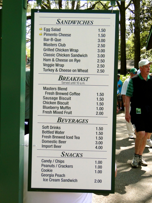 This is the menu - check out the reasonable prices!