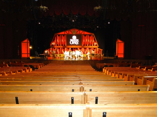 Inside the Grand Ole Opry