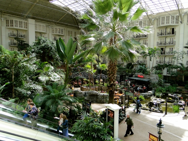 Inside the Opryland Hotel