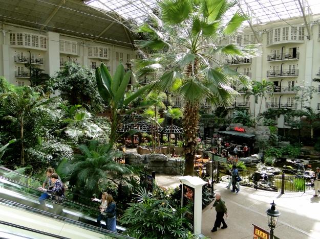 Inside the Opryland Hotel
