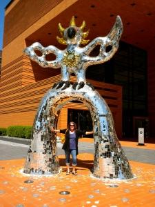 Lady Bird at the Bechtler Museum of Modern Art
