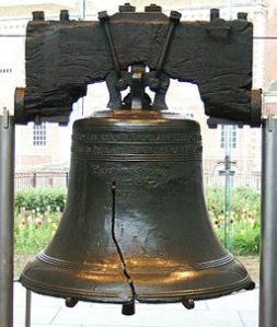Liberty Bell from inside (stolen from internet)