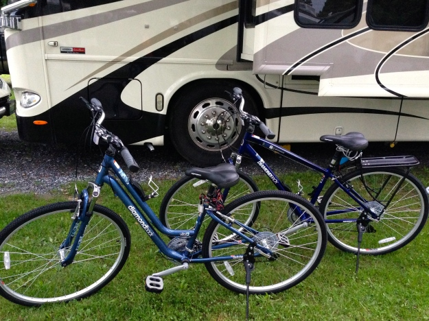 Our new bikes!