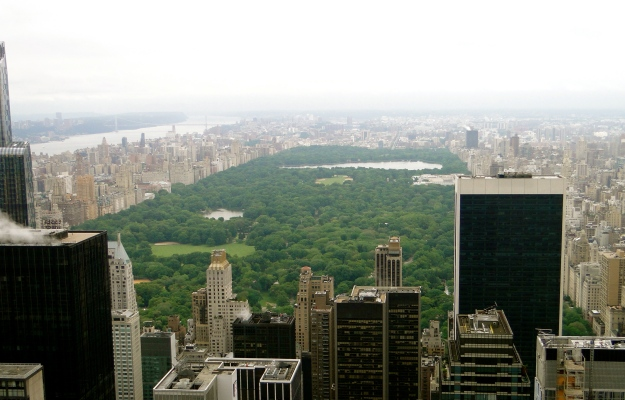 Central Park from Top of the Rock.  Really gives you a feel for how big it is right in the middle of the city