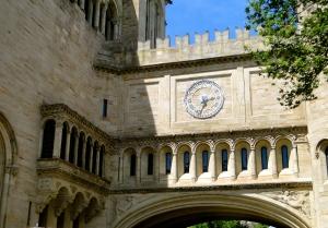 Entrance to Yale