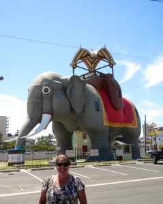 Margate's city mascot, Lucy the 65 ft elephant