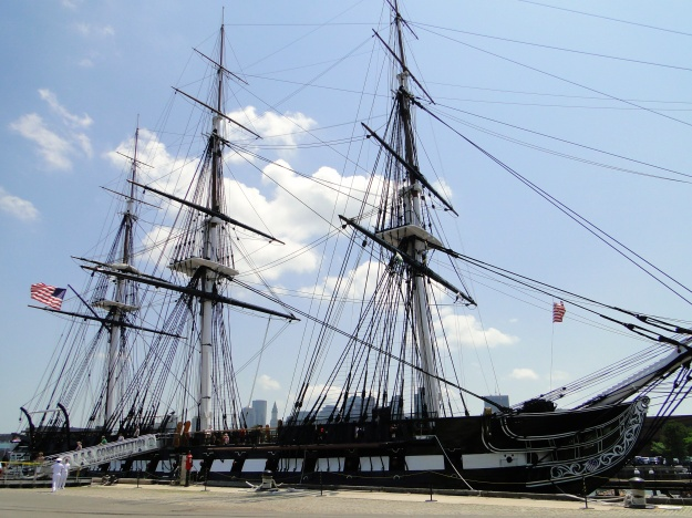 USS Constitution, Boston