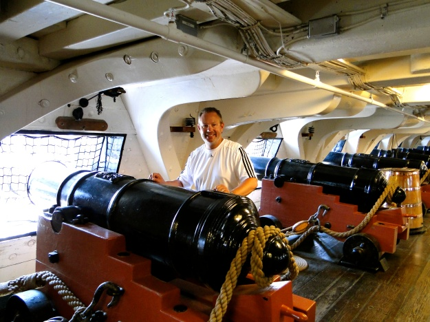 Aboard the USS Constitution