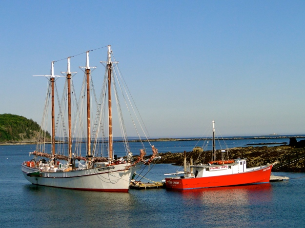 The Margaret Todd, Bar Harbor