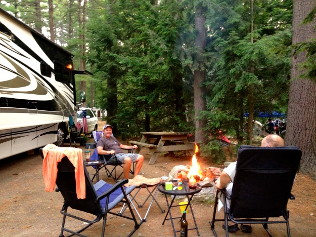 Hanging out at the Campground