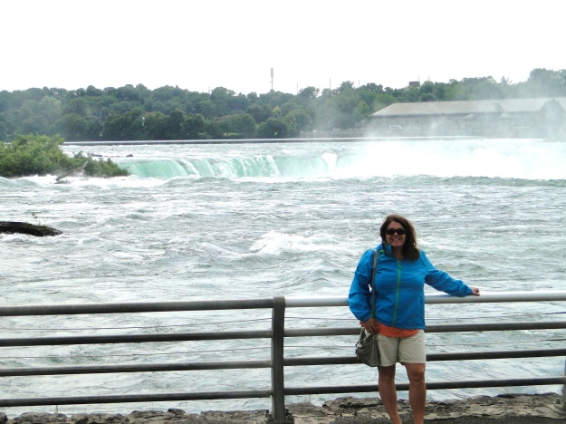 A little misty at Horseshoe Falls