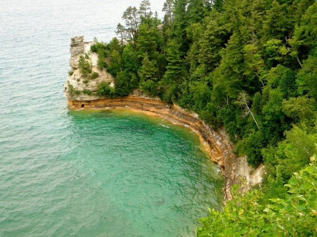 Pictured Rocks National Lakeshore, Miners Castle