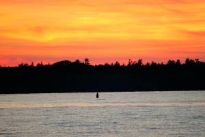 Gorgeous sunset over Lake Superior!