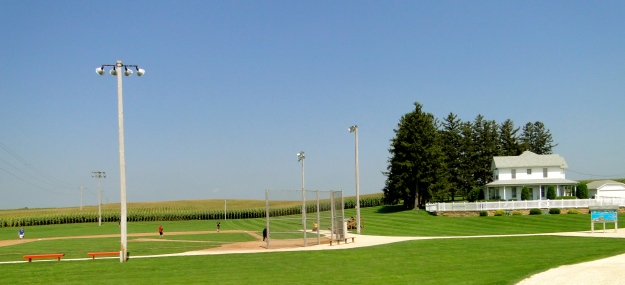 Field of Dreams movie set