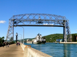 Aerial Lift Bridge (up)