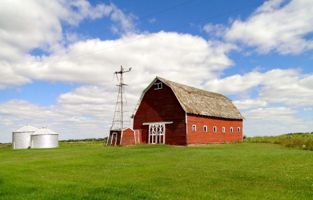 The Red Barn at the Miller farm