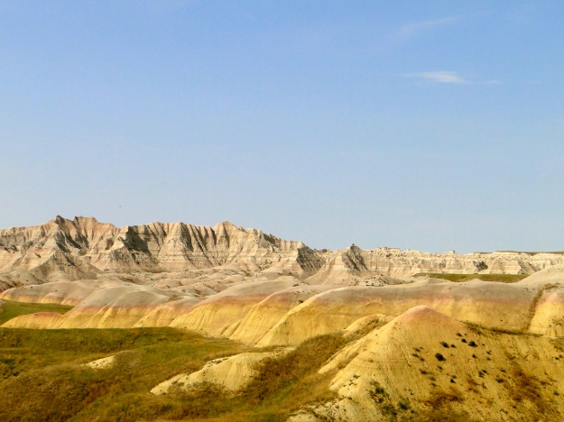 "My favorite was the ""Yellow Mounds"""